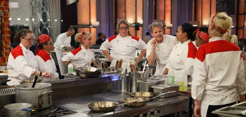 "Hell's Kitchen RECAP 4/24/14: Season 12 Episode 7 ""14 Chefs Compete"""