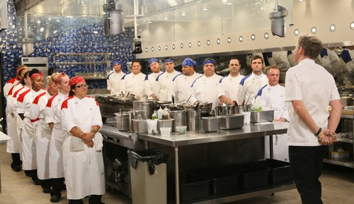 "Hell's Kitchen RECAP 4/3/14: Season 12 Episode 4 ""17 Chefs Compete"""