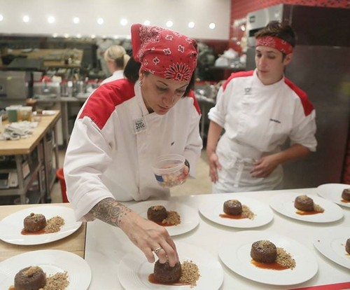 "Hell's Kitchen Recap - Chefs Serve Firemen that Serve the Community: Season 13 Episode 11 ""8 Chefs Compete"""