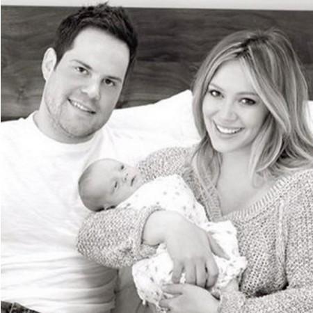 Hilary Duff Shares Family Photo (Photo)
