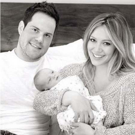 Hilary Duff Shares Family Photo (Photo)