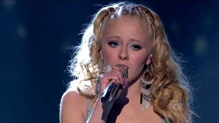 Hollie Cavanagh American Idol 2012 'Song 2' Video 5/2/12
