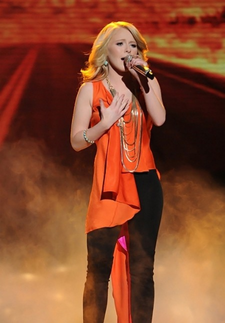 Hollie Cavanagh Eliminated From American Idol 2012