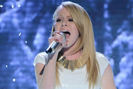 Hollie Cavanagh American Idol 2012 'What A Feeling' Video 4/4/12