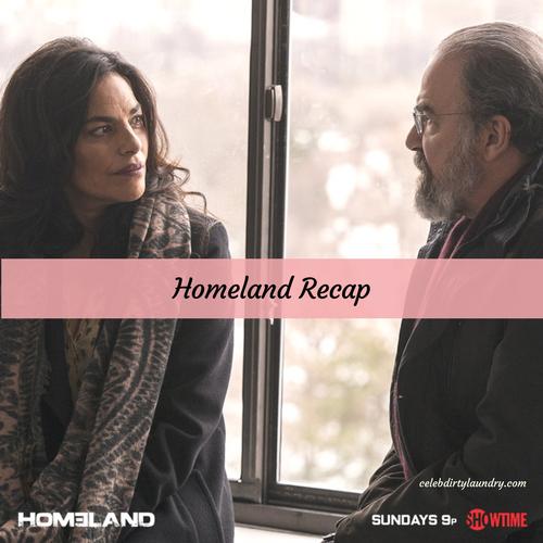 """Homeland Recap 3/26/17: Season 6 Episode 10 """"The Flag House"""""""