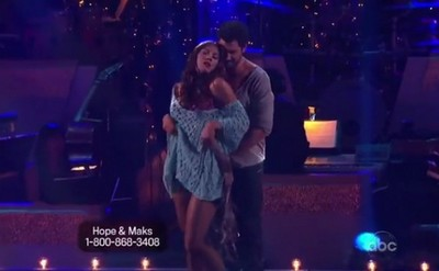 Hope Solo Dancing With The Stars Rumba Performance Video 10/24/11