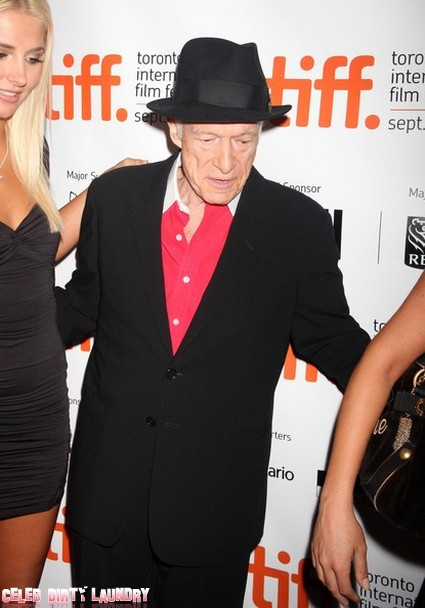 Hugh Hefner Swears Off Marriage as New Year's Eve Resolution