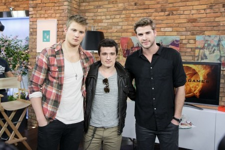 The Hunger Games Boys Visit The Marilyn Denis Show! (Photo)