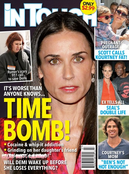 Demi Moore Is A Time Bomb - It Is Worse Than Anyone Knows (Photo)