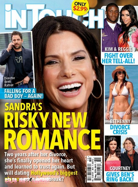 Sandra Bullock's New Romance Is With Another Bad Boy (Photo)
