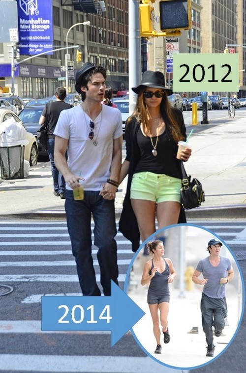 Ian Somerhalder and Nikki Reed Dating PDA On Full Display - Getting Back At Nina Dobrev Her Flings?