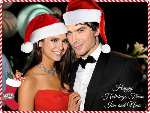 Nina Dobrev and Ian Somerhalder Together for Christmas Holidays - Reality or Wishful Thinking?