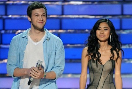 American Idol 2012 Finale Justified: Phillip Phillips WINS Jessica Sanchez LOSES