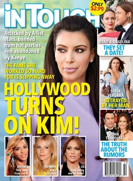 Hollywood A-Listers Turn On Kim Kardashian (Photo)