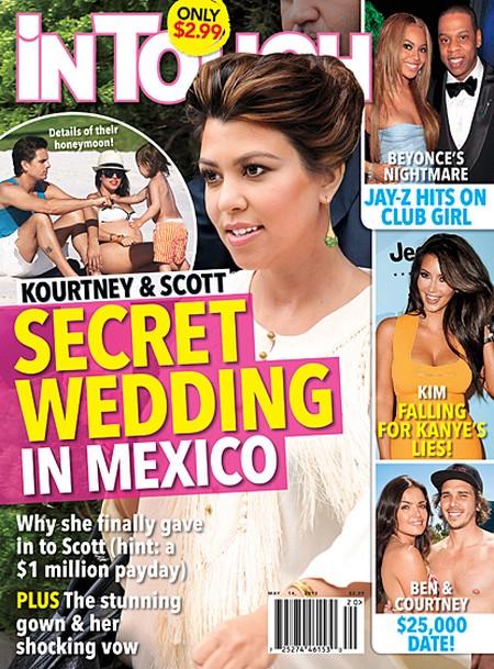 Kourtney Kardashian and Scott Disick's Secret Wedding In Mexico