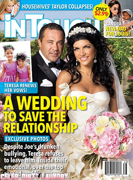 In Touch: Teresa and Joe Giudice: A Wedding To Save Their Marriage