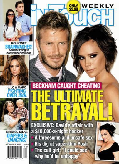 David Beckham In Court Battle With In Touch Weekly