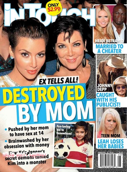 Kim Kardashian Was Destroyed By Her Mother Kris Jenner (Photo)