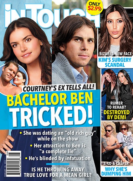 Courtney's Ex Tells All - The Bachelor Ben Flajnik Is Being Tricked (Photo)