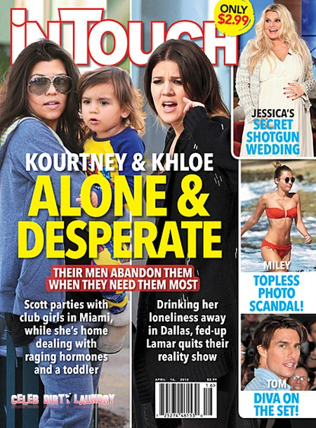 Kourtney Kardashian Abandoned And Khloe Kardashian Hits The Bottle