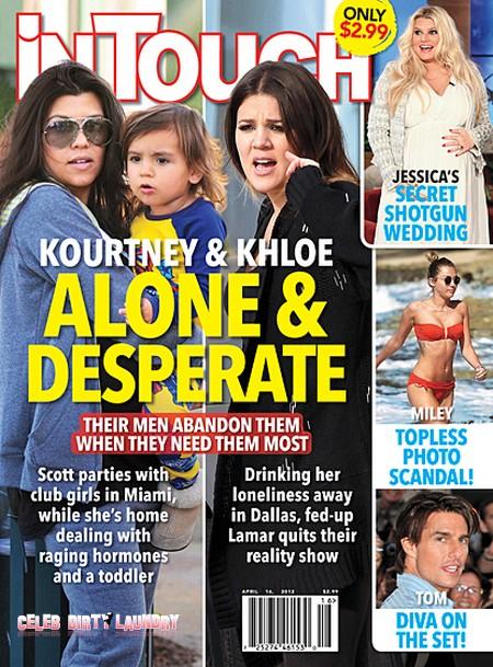 Kourtney Kardashian Abandoned And Khloe Kardashian Hits The Bottle