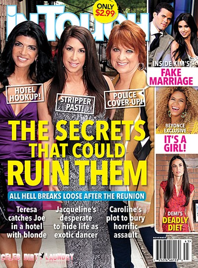 In Touch Weekly: RHONJ: Dirty Secrets That Could Ruin Them Revealed!