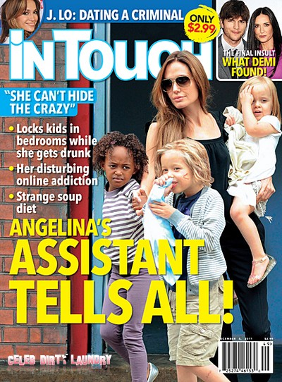 Angelina Jolie's Assistant Tells All (Photo)
