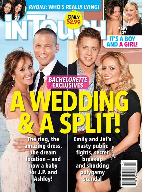 The Bachelorette Emily Maynard and Jef Holm Split: Holm's Polygamist Background Exposed