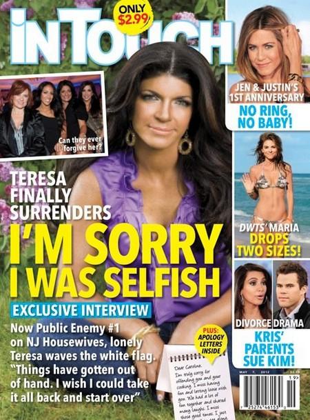 Teresa Giudice Apologizes and Admits She Was Selfish