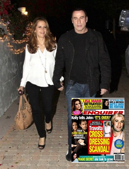 Report: John Travolta And Kelly Preston To Divorce