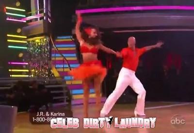 J.R. Martinez's Dancing With The Stars Samba Video 10/17/11