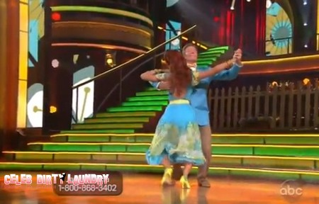 Jack Wagner Dancing With The Stars Foxtrot Performance Video 3/19/12