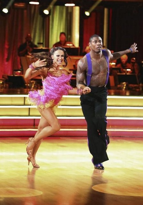 Jacoby Jones Dancing With the Stars Quickstep Video 4/22/13
