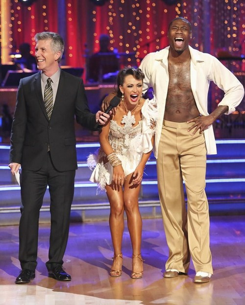 Jacoby Jones Dancing With the Stars Paso Doble Trio Dance Video 5/6/13