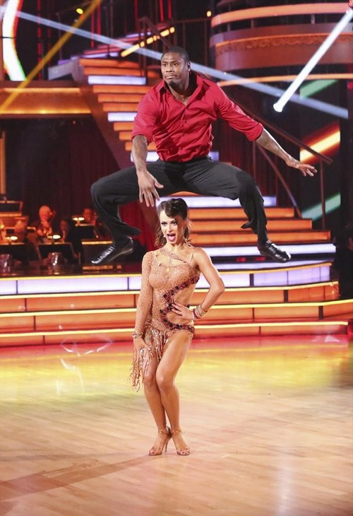 Jacoby Jones Dancing With the Stars Viennese Waltz Video 5/6/13