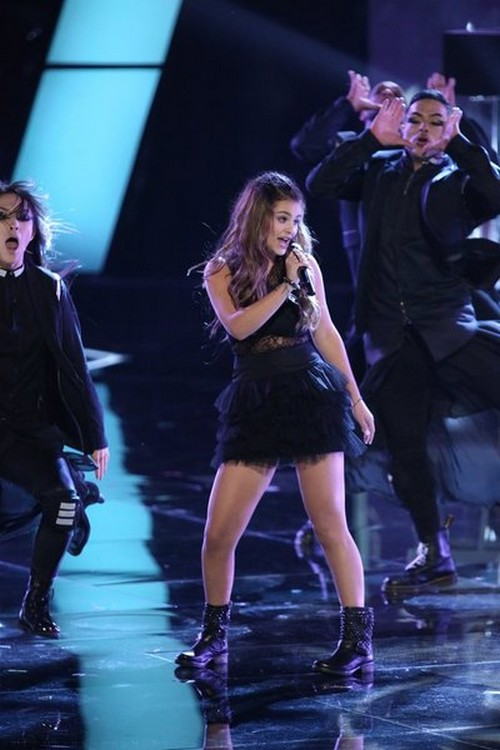 """Jacquie Lee The Voice Top 8 """"Who's Lovin' You"""" Video 11/25/13 #TheVoice"""