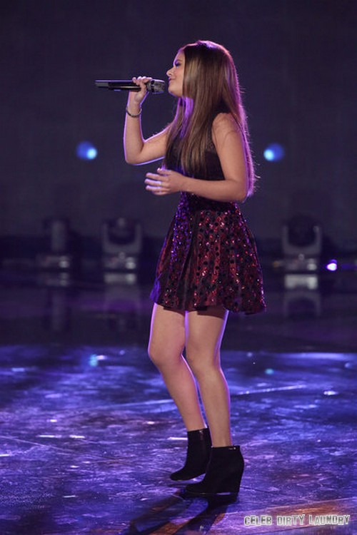 """Jacquie Lee The Voice Top 5 """"Angel"""" Video 12/9/13 #TheVoice"""