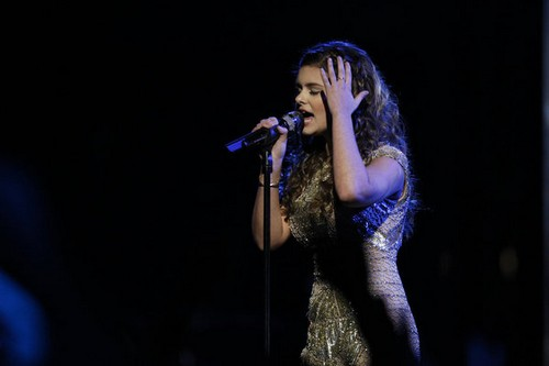 "Jacquie Lee The Voice Top 6 ""Cry Baby"" Video 12/2/13 #TheVoice"
