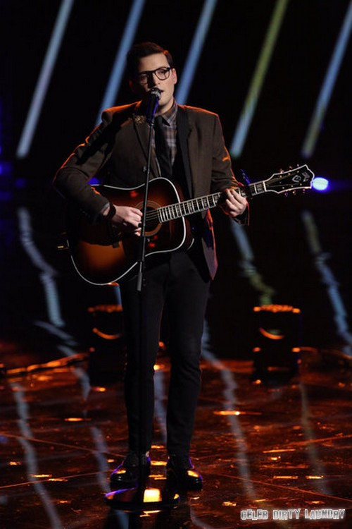"""James Wolpert The Voice Top 5 """"With Or Without You"""" Video 12/9/13 #TheVoice"""