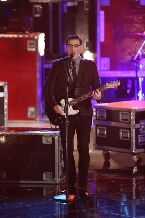 """James Wolpert The Voice Top 8 """"Somebody to Love"""" Video 11/25/13 #TheVoice"""