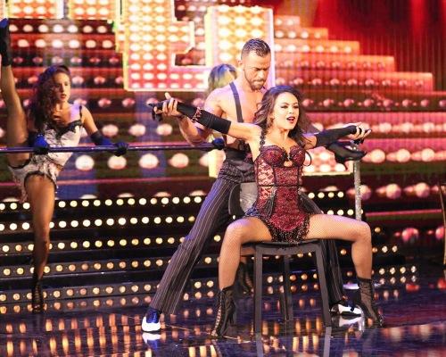 Janel Parrish & Val Chmerkovskiy Dancing With the Stars Samba Video Season 19 Week 6 10/20/14 #DWTS