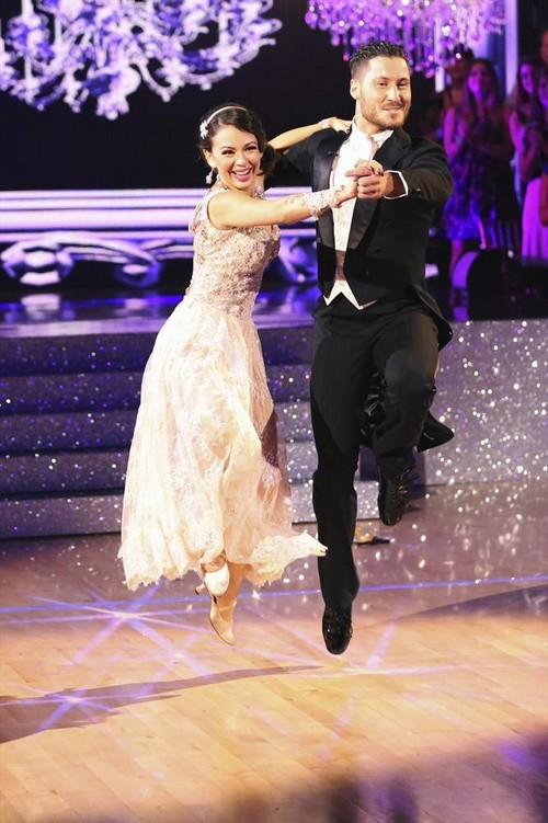 Janel Parrish & Val Chmerkovskiy Perfect Score Jazz Video Dancing With the Stars Season 19 Week 3