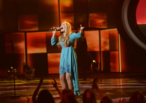 "Janelle Arthur American Idol ""I Will"" Video 3/20/13"