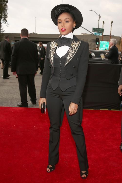 Janelle-Monae-2013-Grammy-Awards-Red-Carpet-Arrival