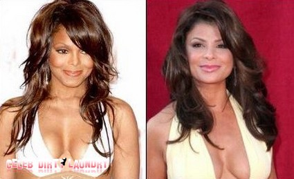 Janet Jackson And Paula Abdul