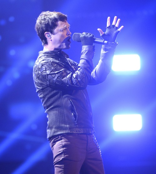"Jeff Gutt The X Factor ""O Holy Night"" Video 12/19/13 #TheXFactorUSA"