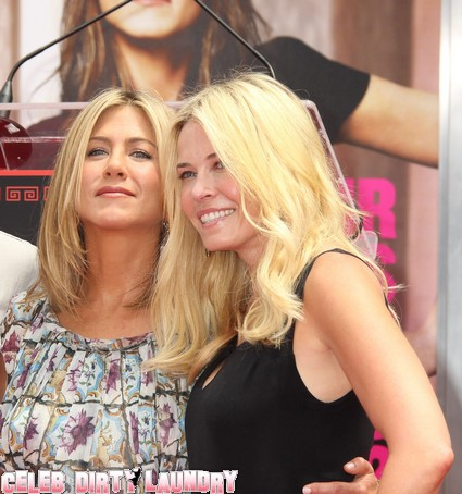 Jennifer Aniston Selfishly Abandons Chelsea Handler