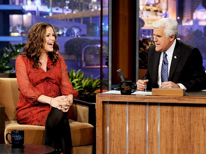 Jennifer Garner Visits Jay Leno And Talks About All Things Baby