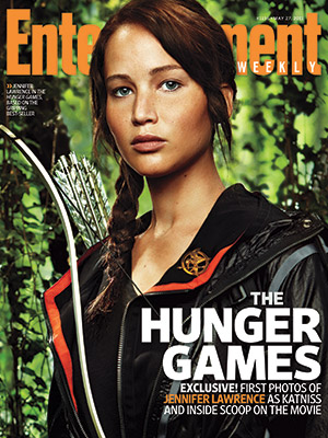 Jennifer Lawrence as Katniss - First Look!