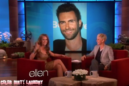 Jennifer Love Hewitt Is Crushing On Adam Levine (Video)
